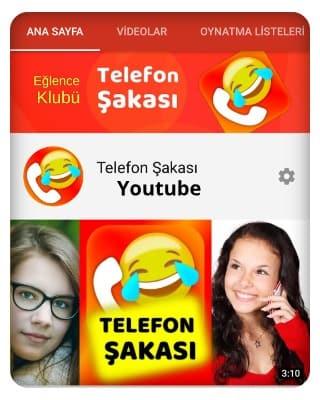 Youtube üzerinden telefon şakası yap